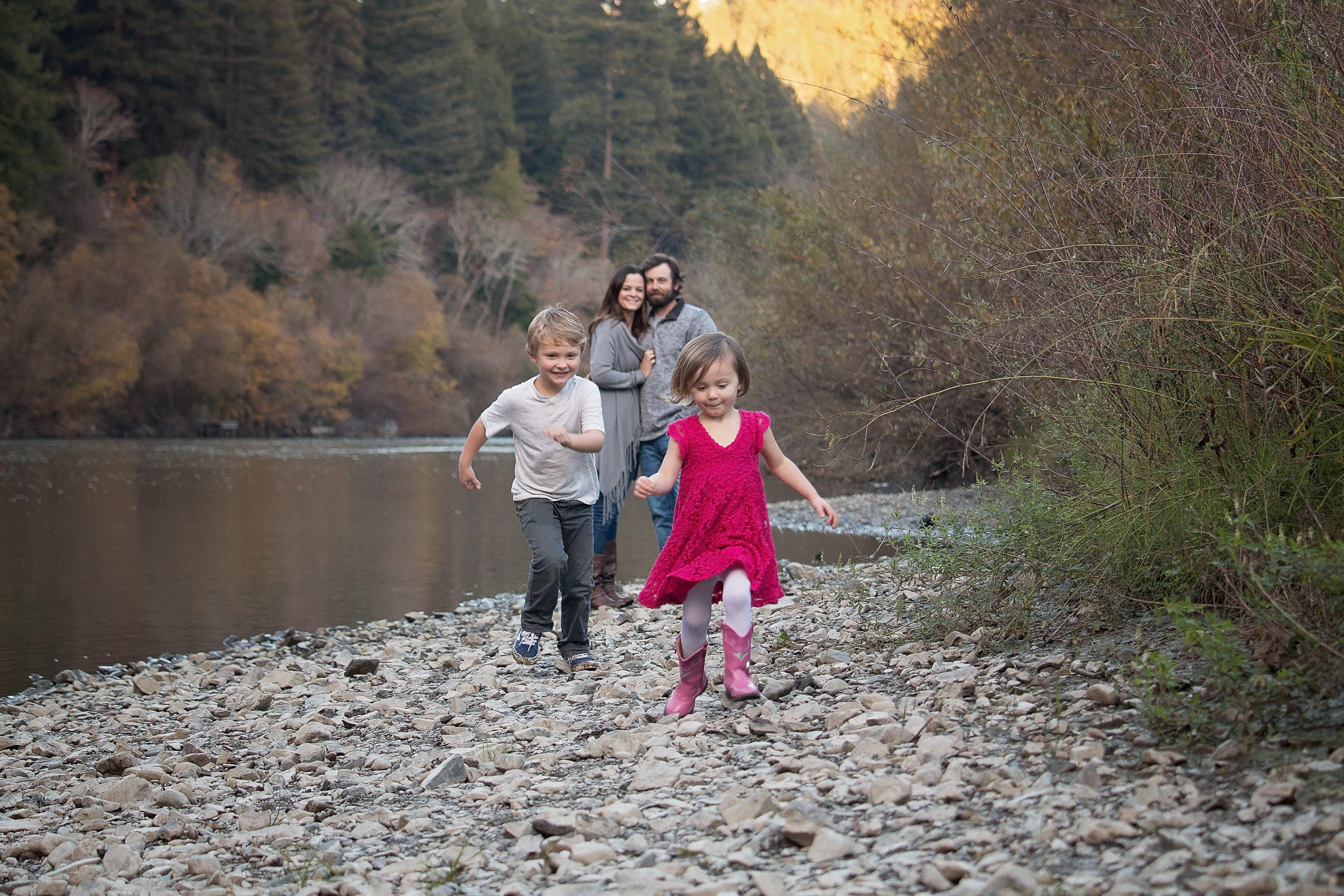 Guerneville family photography